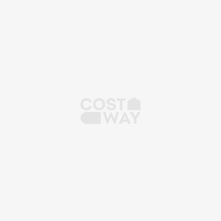 4 Drawer Storage Trolley Cart Portable W/ Wheels Home Office/Beauty Salon Brown